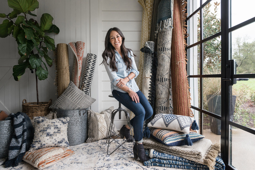 joanna gaines rugs pillows and throws and joanna gaines accessories